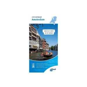 Waterkaart Amsterdam